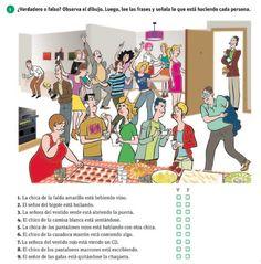 party vocab Actividad de present progressive Spanish Grammar, Spanish Vocabulary, Spanish 1, Spanish Teacher, Spanish Classroom, Spanish Lessons, How To Speak Spanish, Teaching Spanish, Spanish Language