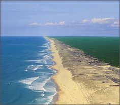 Les Landes, France. Beach running for hundreds of kilometres. Getting developed…