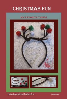 DIY X-mas reindeer fun