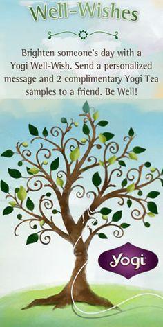 Order 2 #Free #Yogi #Tea Samples! #freebie #wellwishes