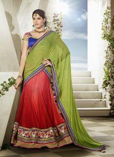 Beckoning Red Wedding Wear Designer Lehenga Choli ,Indian Dresses
