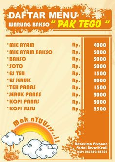 Share And Learn Spanduk Warung Bakso