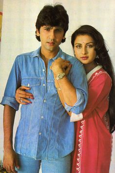 Bollywood Couples, Bollywood Photos, Bollywood Actors, Poonam Dhillon, Actress Anushka, Vintage Bollywood, Old Actress, Heroines, Movie Stars