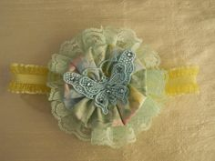 Handmade Headband in Pastel Colors  by EdiliaBows on Etsy