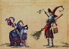 witches   Marcos Llussá llussa.blogspot.com