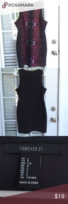 NWOT Bodycon Dress Never worn! Size large. Forever 21 brand  Forever 21 Dresses Mini