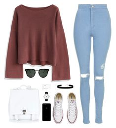 """""""Sin título #4331"""" by mdmsb on Polyvore featuring moda, Chicwish, Topshop, Converse, Proenza Schouler, Spitfire, 2028, Aéropostale y Rosendahl"""
