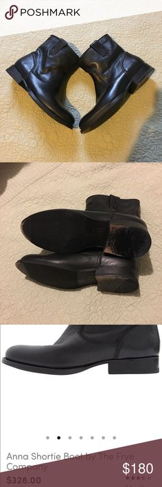 The Frye Company Booties Must Have‼️awesome pair of boots my favorite will love to keep but have tons of shoes! Great Condition very minimum wear! Frye Shoes Ankle Boots & Booties