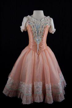 Peach Swanhilda costume for the ballet Coppelia