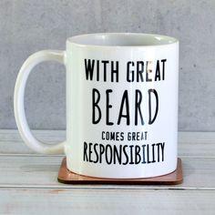 'Great Beard' Man Mug from notonthehighstreet.com