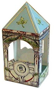 A tooth fairy gazebo...+ lots of other sweet, old-fashioned-feeling free printables at this site.