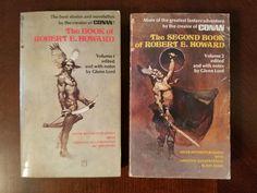 Book Haul/Spotlight – The Book of Robert E. Howard Vol. 1 and 2.