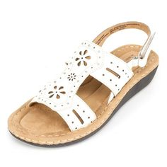 Cliffs CARAMBA Womens Sandal White  55 M >>> More info could be found at the image url.(This is an Amazon affiliate link)
