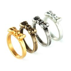 bow stackable rings