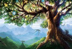 Yggdrasil, Tree of Life by Alayna.deviantart.com on @deviantART