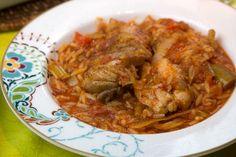 Γιουβετσι Κοτοπουλο: νοστιμο, ευκολο και γρηγορο Greek Recipes, Poultry, Delish, Grilling, Curry, Cooking Recipes, Pasta, Traditional, Meals