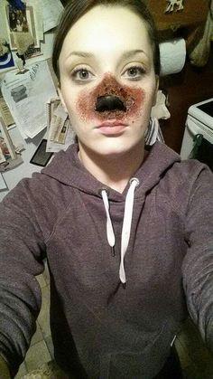 Burnt nose