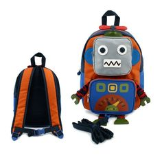 25c6651c352a Aliexpress.com   Buy Child s Anti lost Robot Canvas Mini Bag Preschool Toy  Backpack Kindergarten Zoo Pack Cartoon Design Baby Mochila Toddler Kids  from ...