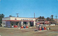 The Gas Station.  American my Dad ran one through the 60's & 70's in Center Twp. Pa.