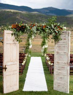 Wedding ceremony idea; Featured Photographer: Brinton Studios