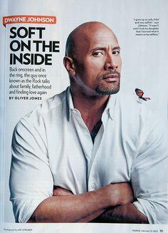 <3 Dwayne Johnson - Soft on the Inside - People magazine