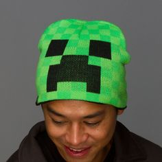 Isaac - J!NX : Minecraft Creeper Face Beanie - Clothing Inspired by Video Games & Geek Culture