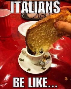 Italians be like