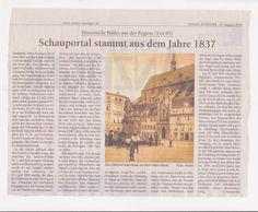 Altes zu Stralsund (ich mochte das Fach Geschichte immer schon)