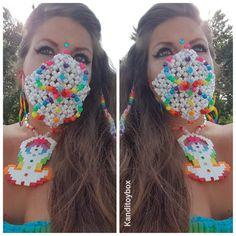 rave girl strips