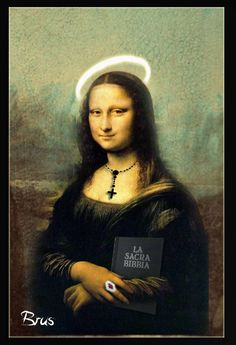 Monnalisa santa con anello profano