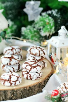 crinkle cookies   Le ricette di mamma Gy