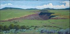 Painting iconic landscapes of northern New Mexico
