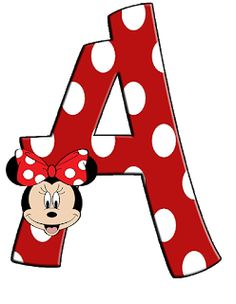 Minnie Png, Mickey Minnie Mouse, Minnie Mouse Background, Minnie Mouse Drawing, Mickey Mouse Letters, Alphabet Wallpaper, Mini Mouse, Mouse Parties, Letters And Numbers