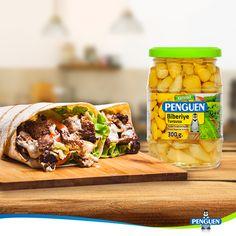Enfes dürümlerin lezzet dostu #Penguen Biberiye Turşusu :)