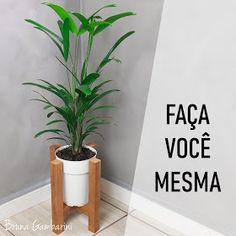 Plant Decor, Diy, Baby Shower, Vase, Wood, How To Make, Crafts, Utility Companies, Gisele