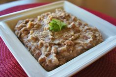 Cooker Homemade Refried Beans 365 Days of Slow Cooking: Slow Cooker (Crock-Pot) Homemade Refried Days of Slow Cooking: Slow Cooker (Crock-Pot) Homemade Refried Beans Best Slow Cooker, Crock Pot Slow Cooker, Crock Pot Cooking, Slow Cooker Recipes, Crockpot Recipes, Crockpot Dishes, Healthy Recipes, Cooking Tips, Vegetarian Recipes