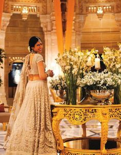 Sabyasachi's grand number. looks lovely!