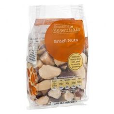 Deliciously crunchy Brazil nuts, geat for snacking and baking. ...