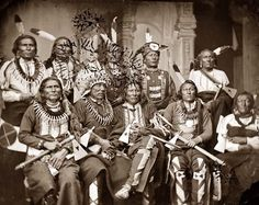 Native American Chiefs 1865 - Conquête de l'Ouest — Wikipédia