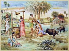 Indian Art Paintings - Angelslover - The Entertainment Website