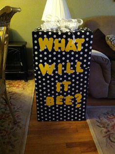 What Will It Bee Balloons Are In The Box And Ready To Go Gender PartyBaby