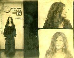 Janis Joplin, 1969 Tampa, FL Charge... Janis Joplin, 1969 Tampa, FL Charge: disorderly conduct