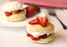 Quick! Grab Your Biscuit Mix and Make Strawberry Shortcakes