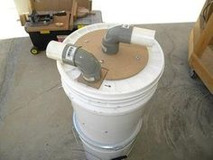Picture of Mini Cyclone Bucket Dust Collector