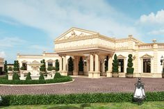 Professional EXTERIOR DESIGN in Qatar by Antonovich Design