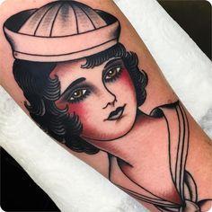 Sailor gal by Andrea Giulimondi, London