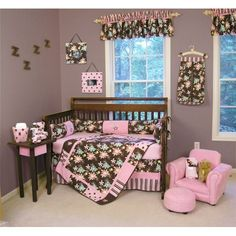 I must have this bedding for my little girl!