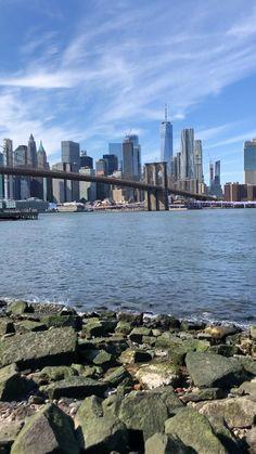 Nature Aesthetic, Travel Aesthetic, Nyc Instagram, Instagram Story, Dumbo Nyc, Landscape Photography, Travel Photography, Nyc Life, New York City Travel