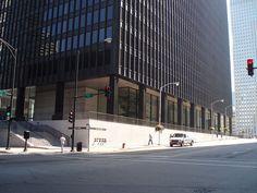 The IBM Building – 330 N. Wabash Avenue, Mies van der Rohe, 1969 #chicagoarchitecture #chicagoarchitectureresources