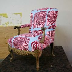Armchair Carved now featured on Fab.